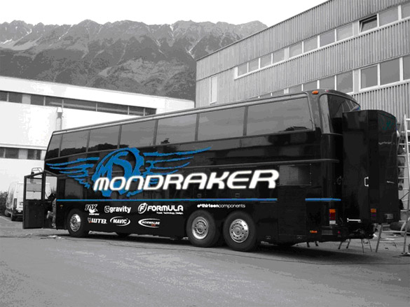 Автобус команды Mondraker Ms Team